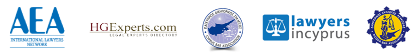 Membership Logos of Institutions and Cyprus lawyers networks hg.org